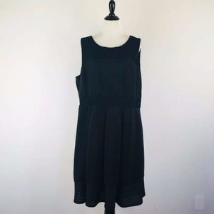 Lane Bryant Fit and Flare Pleated Dress Size 24W